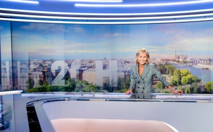 Claire Chazal (© JULIEN CAUVIN/TF1)