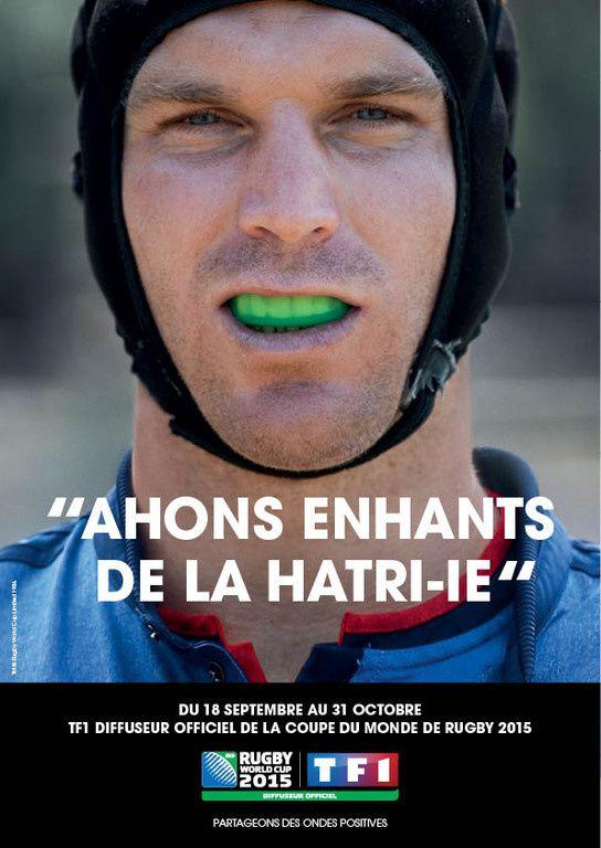 Coupe du Monde 2015 : La campagne de publicité de TF1