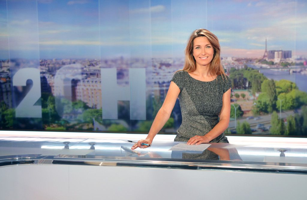 Anne Claire Coudray (TF1)