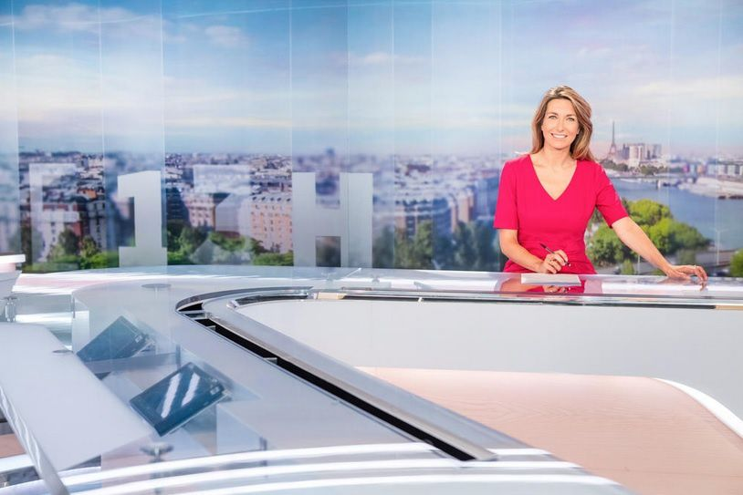 Anne Claire Coudray (© TF1/Julien Cauvin)