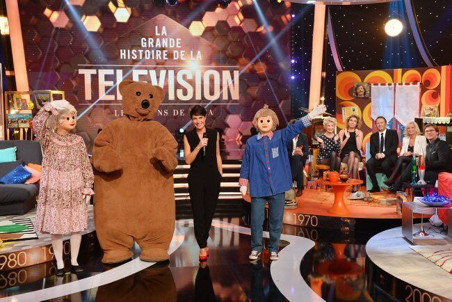 """La grande histoire de la télévision"" (TF1)"