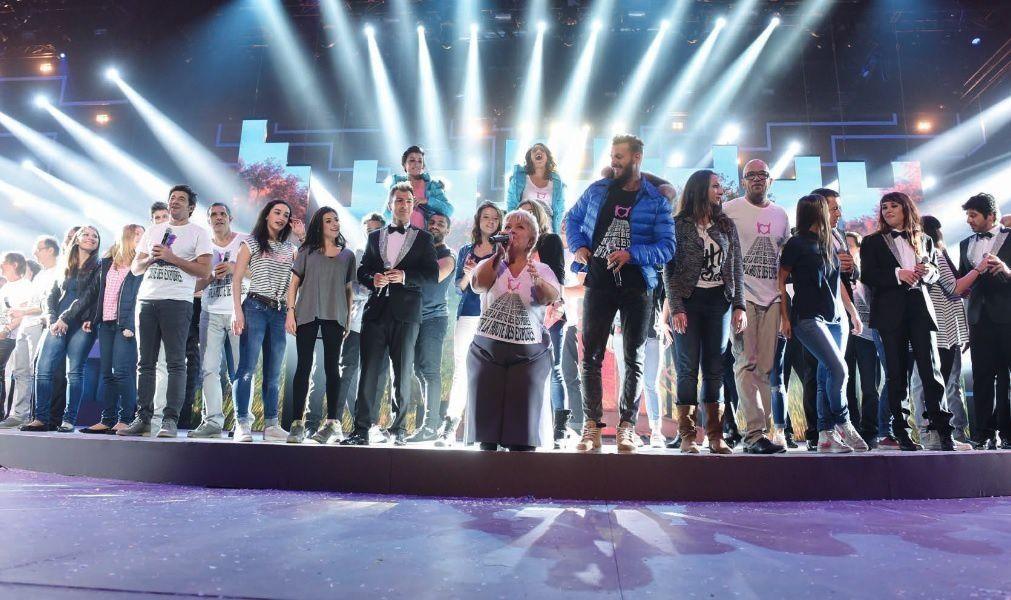 """""""Concert des Enfoirés"""" (© TF1/Laurent Zabulon)"""