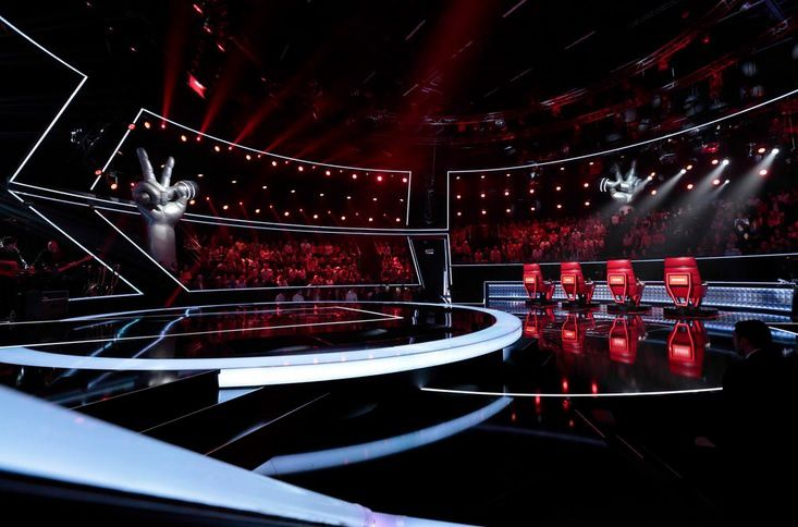 """The Voice"" (© Yann Dejardin/ Shine / TF1/ Bureau233)"