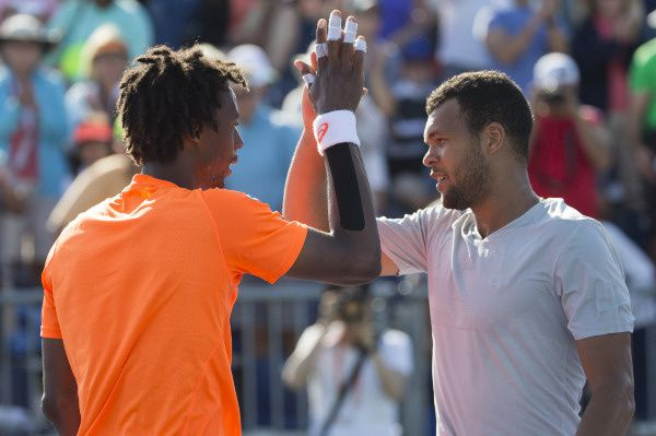 Tsonga/Monfils (© Mike Frey / Backpage Images / DPPI)
