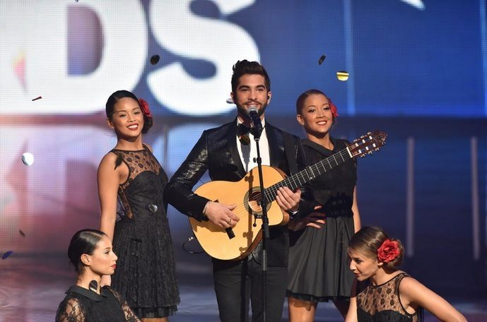 Kendji Girac (© TF1/LAURENT ZABULON)