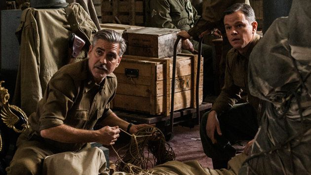 """Monuments Men"" (© 2014 Columbia Pictures Industries, Inc. and Twentieth Century Fox Film Corporation. All rights reserved.)"