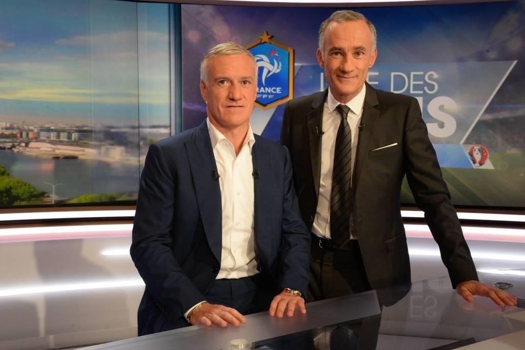 Didier Deschamps et Gilles Bouleau (© Presse Sports)
