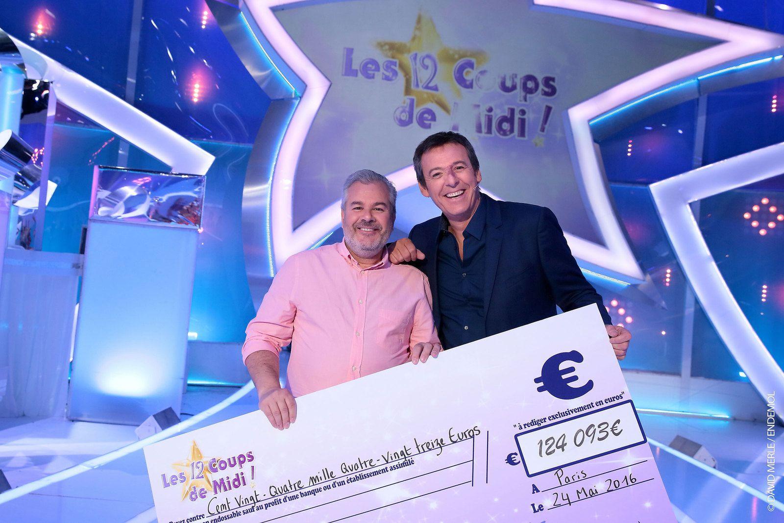 Les 12 coups de midi arnauld quitte le jeu avec plus de 124 000 euros de gains newstele - Les 12 coups de midi jeu en ligne ...