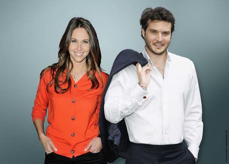 Ophélie Meunier et Bastien Cadeac (© Franck Robert/Abacapress/M6)