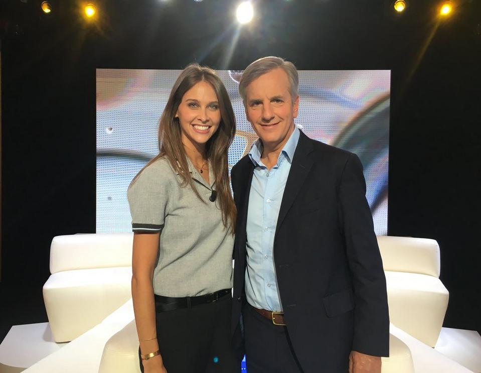 Ophélie Meunier et Bernard De La Villardière (© Canal+)