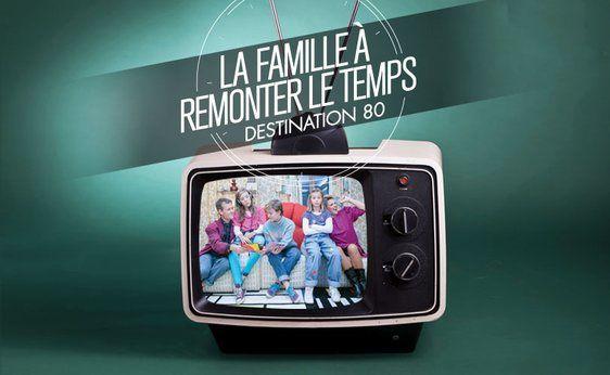 """""""La famille à remonter le temps"""" (© Charlotte ORTHOLARY/M6)"""