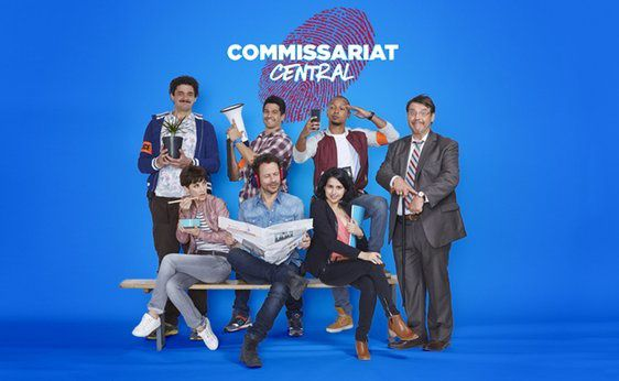 """Commissariat Central"" (© Cecile ROGUE/M6)"