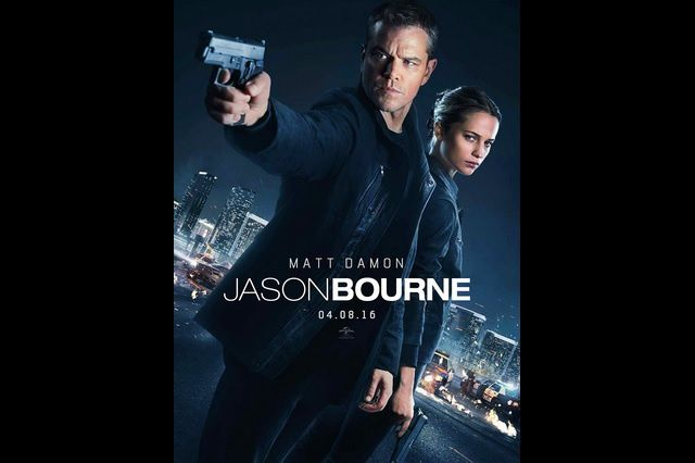"Affiche du film ""Jason Bourne"""