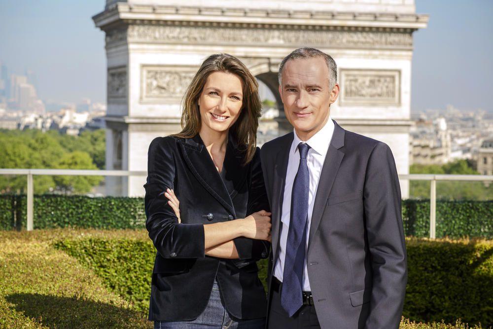 Anne-Claire Coudray et Gilles Bouleau (© TF1/Julien Cauvin)