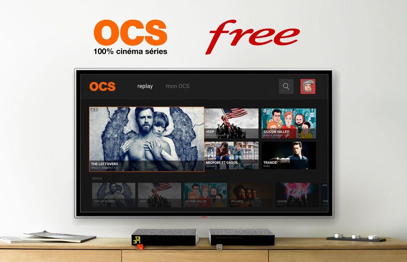 L'application OCS GO arrive chez Free