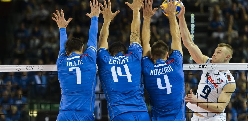 """L'Equipe de France de Volley"" (© GetSportMedia)"