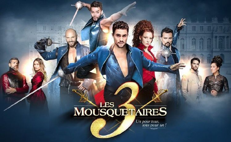 """""""Les 3 Mousquetaires"""" (© Andred/BESTIMAGE)"""
