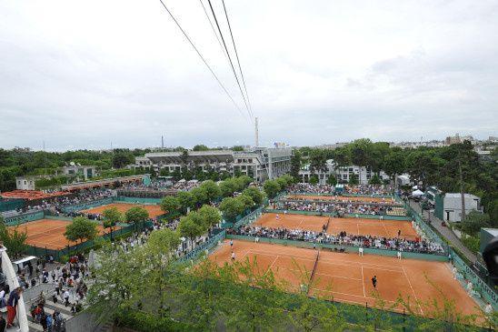 """""""Roland Garros"""" (© FTV/Fred Carol)"""
