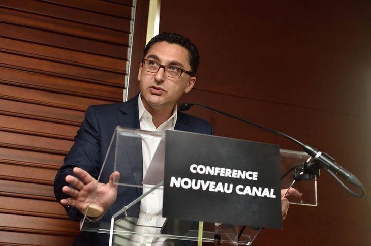 Maxime Saada (© Canal+/Luc Perenom)