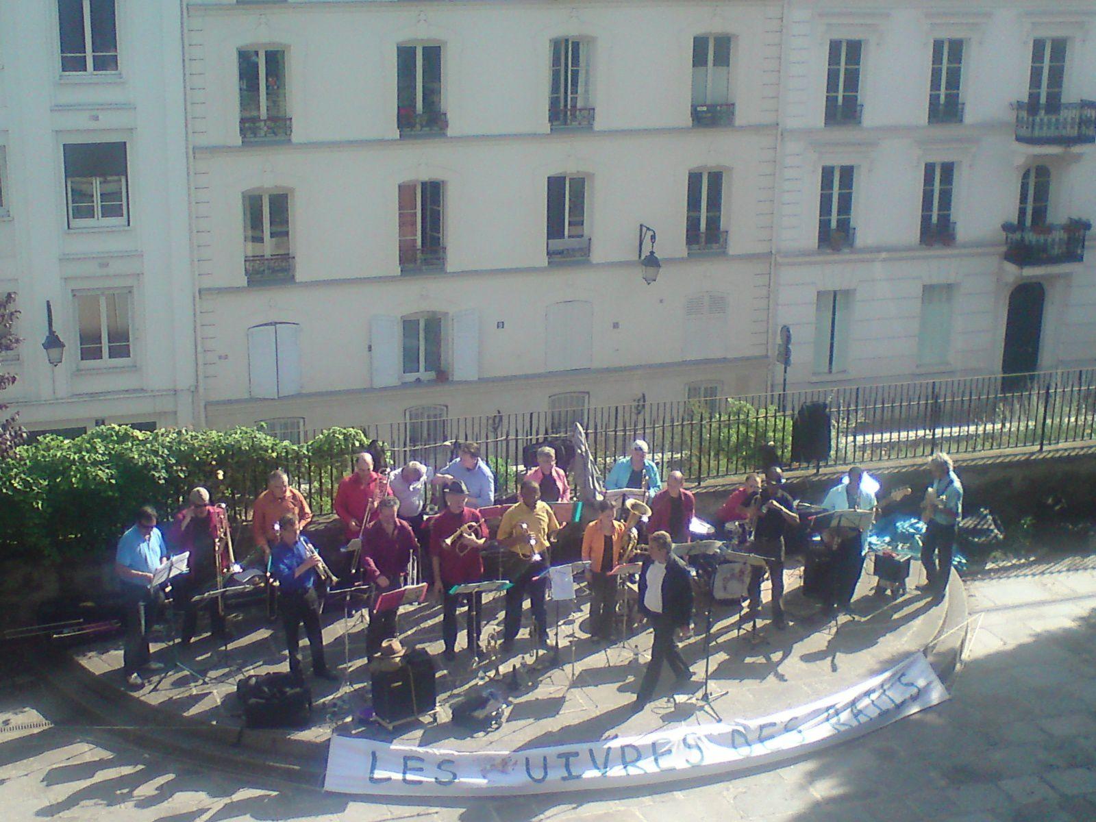 """Les Cuivres des Rails nous offrent """"Sunny"""" aux arènes de Montmartre"""