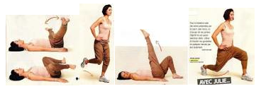 Exercices pour jambes toniques !