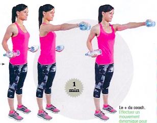 Exercices sympas pour tonifier ses bras