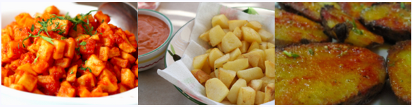 Recette de patatas bravas