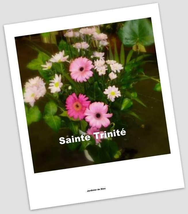 Prière universelle - Fête de la Sainte Trinité