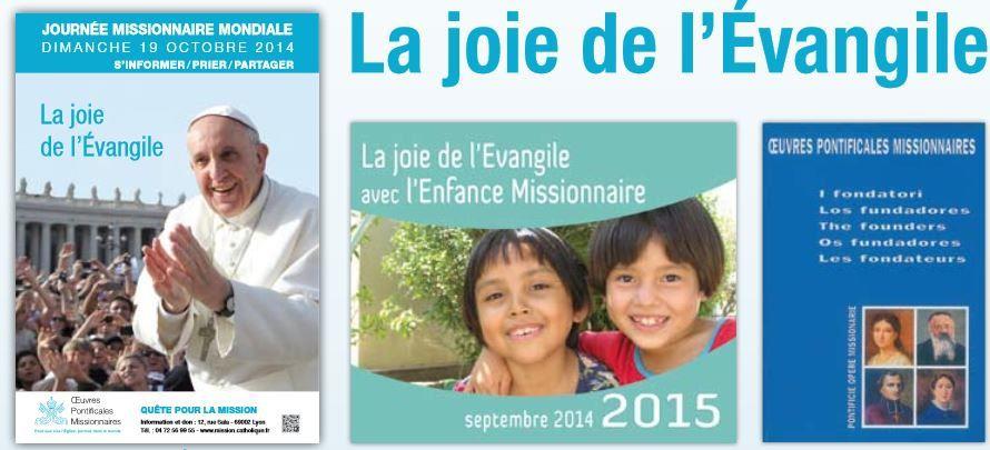 Prière universelle de la Journée Mondiale Missionnaire, 19 octobre 2014, 29e dimanche du temps ordinaire