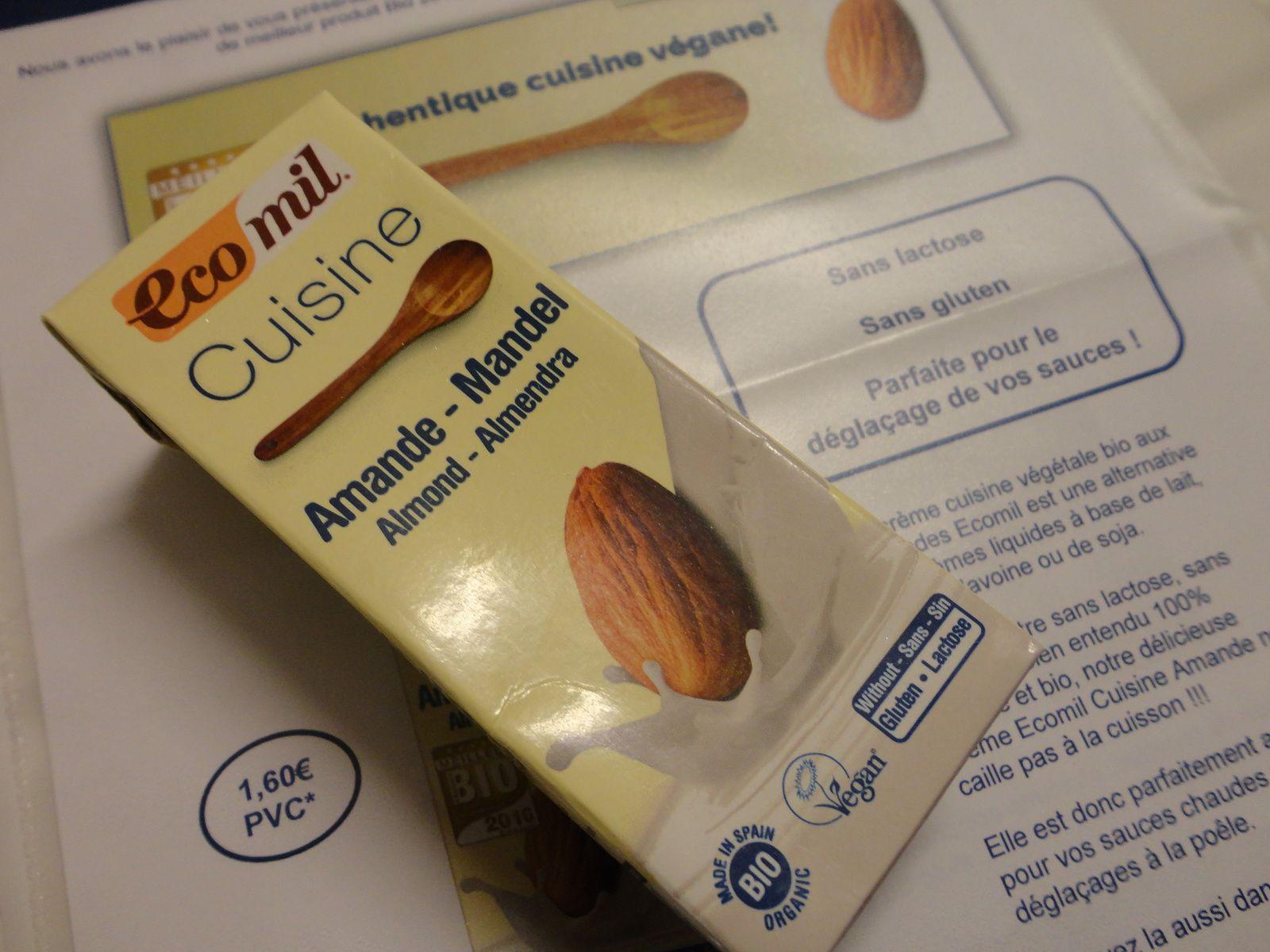 Ecomil : Cuisine Amande Bio 200 ml