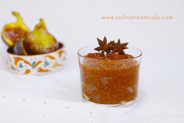 Compote de figues fraîches aux épices