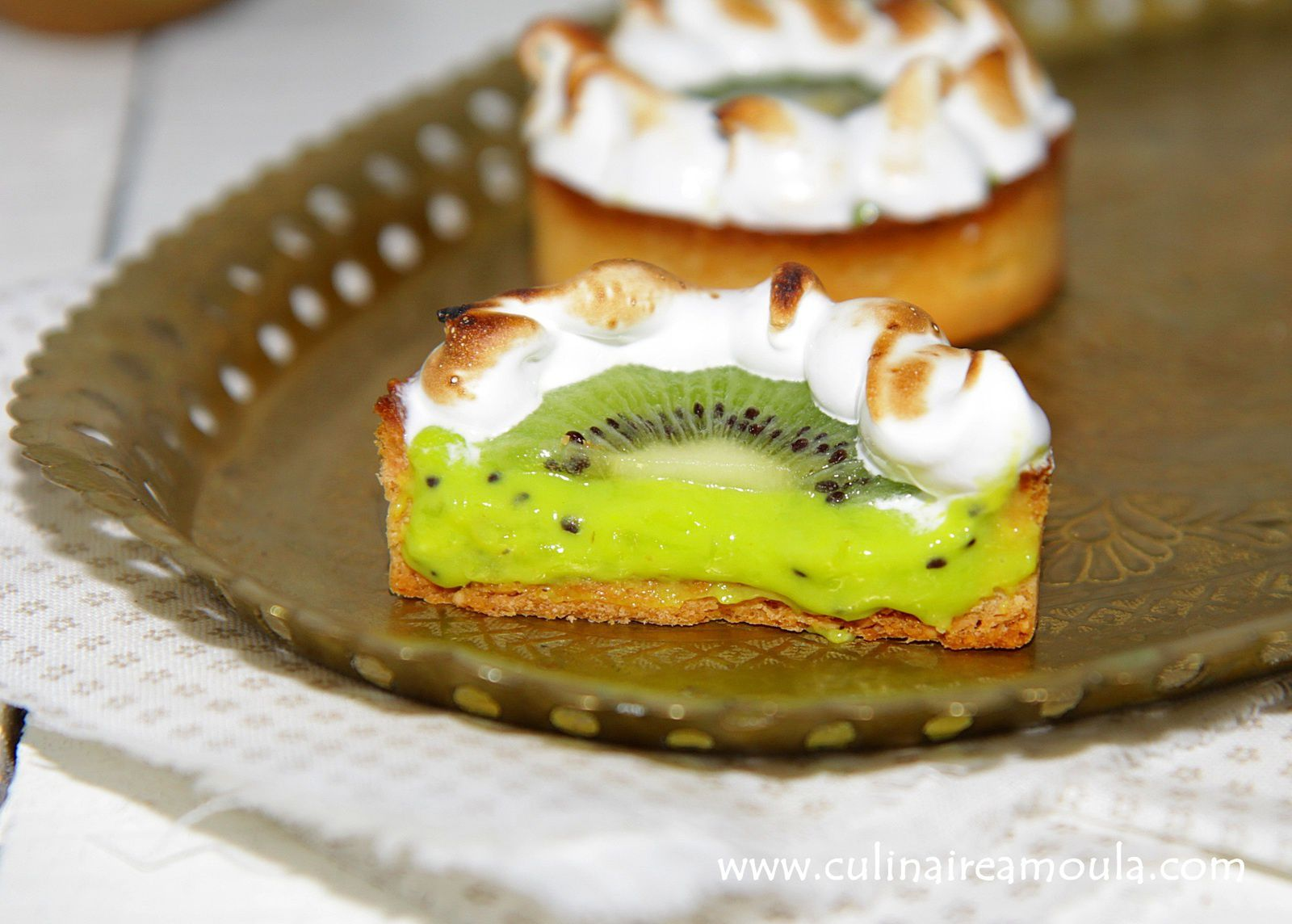 tarte aux kiwis meringu e culinaire amoula. Black Bedroom Furniture Sets. Home Design Ideas