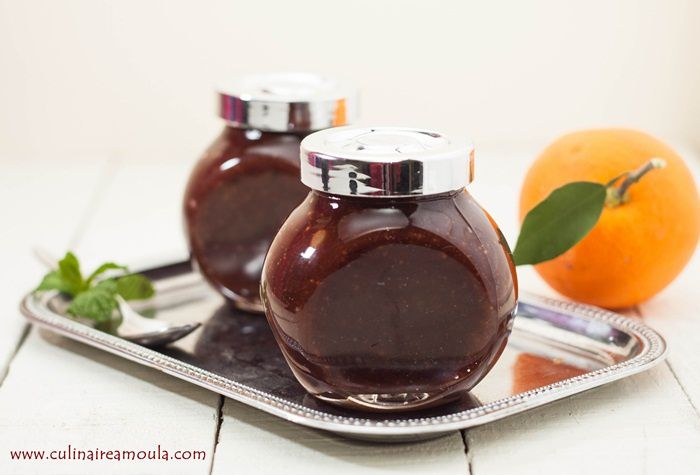 Confiture d'orange au chocolat