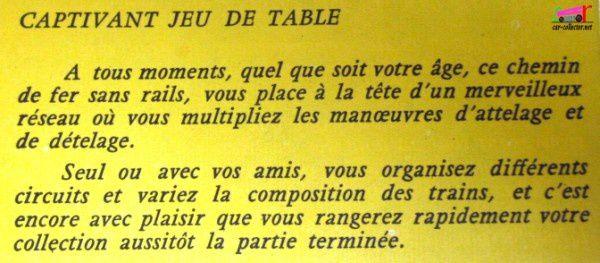 CATALOGUE MAJORETTE 1961 - MUSEE DE POCHE DU COLLECTIONNEUR