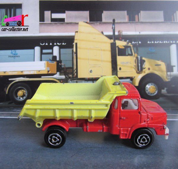 SCANIA CAMION BENNE CARRIERE MAJORETTE 1/100
