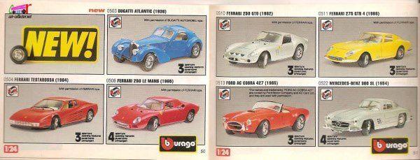 CATALOGUE BURAGO 1994 - CATALOGO BBURAGO 1994