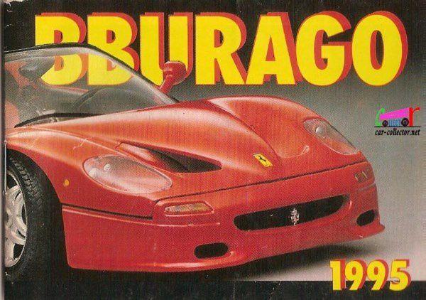CATALOGUE BURAGO 1995 - CATALOGO BBURAGO 1995