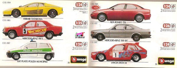 CATALOGUE BURAGO 1998 - CATALOGO BBURAGO 1998