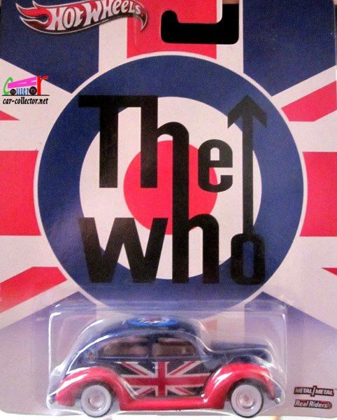 FORD 2-DOORS 1940 - FAT FENDERED HOT WHEELS 1/64 POP CULTURE ROCK THE WHO