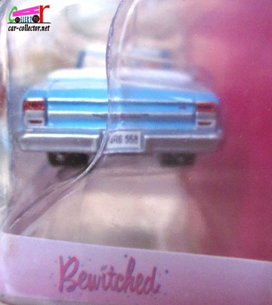 1964 CHEVROLET CHEVELLE MALIBU MA SORCIERE BIEN AIMEE SERIE TV BEWITCHED GREENLIGHT HOLLYWOOD 1/64