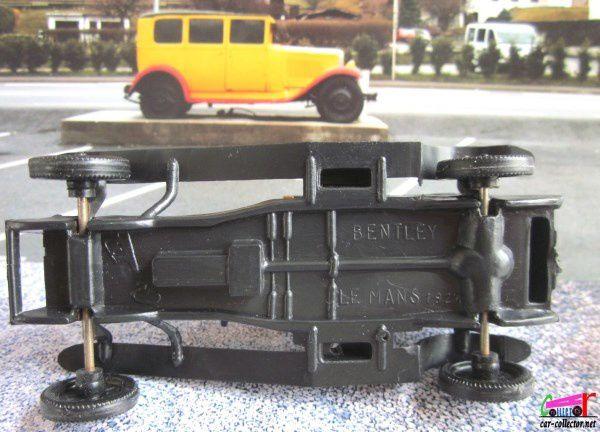 BENTLEY LE MANS 1927 SERIE 2 LES TORPEDOS DE 1925 CADEAU HUILOR 1/64 CLE