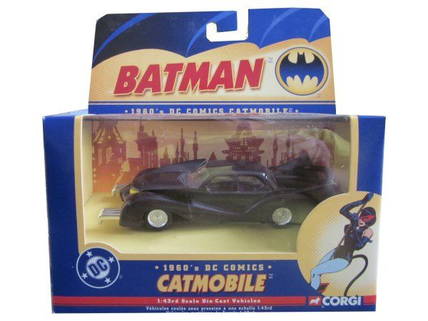 CATMOBILE SERIE BATMAN CORGI 1/43
