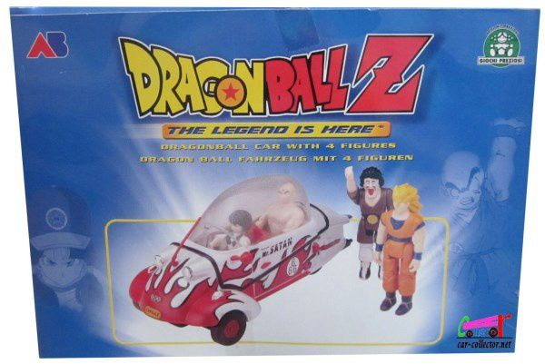 MESSERSCHMITT CAPSULE DRAGON BALL Z MR SATAN AVEC 4 FIGURINES GIOCHI PREZIOSI