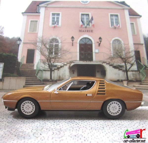 FASCICULE N°32 ALFA ROMEO MONTREAL 1967 1/43 COLLECTION
