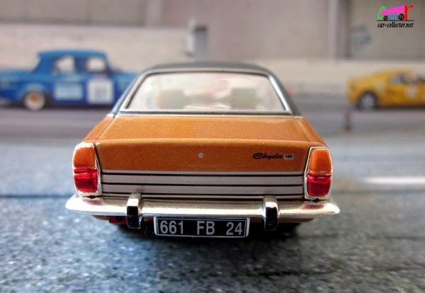 FASCICULE N°51 CHRYSLER 180 BERLINE 1973 IXO 1/43
