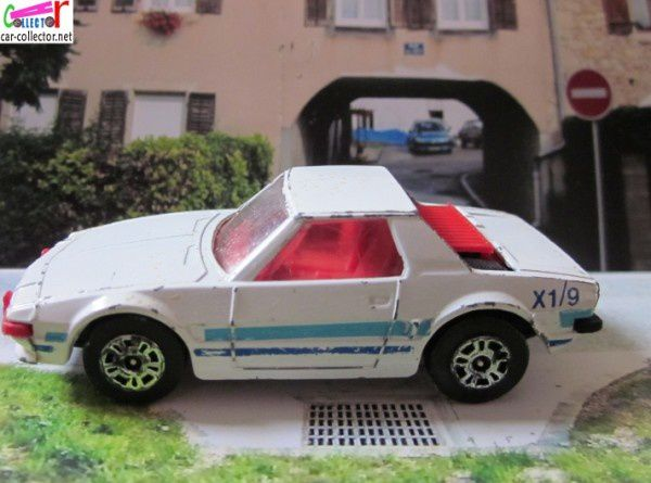 FIAT X 1/9 CORGI 1/60 FIAT X1/9