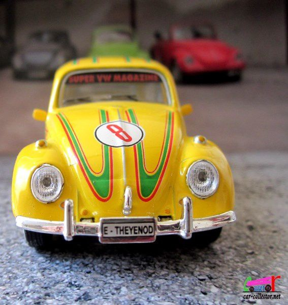 VW COX RALLYE SPONSOR SIMILI SCHUCO 1/43 - VW KAFER RALLY #8 TEAM SIMILI