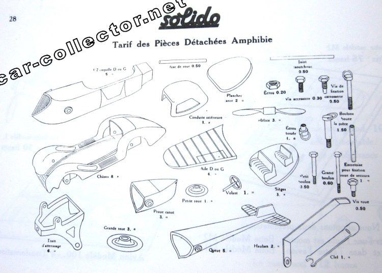 CATALOGUE SOLIDO 1935 - CATALOGO SOLIDO 1935 - KATALOG SOLIDO 1935