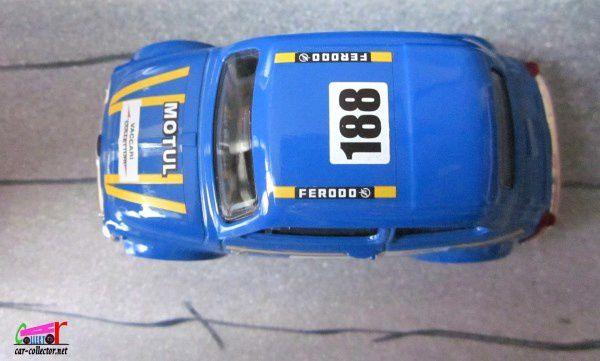 FIAT 500 RALLYE BURAGO 1/43