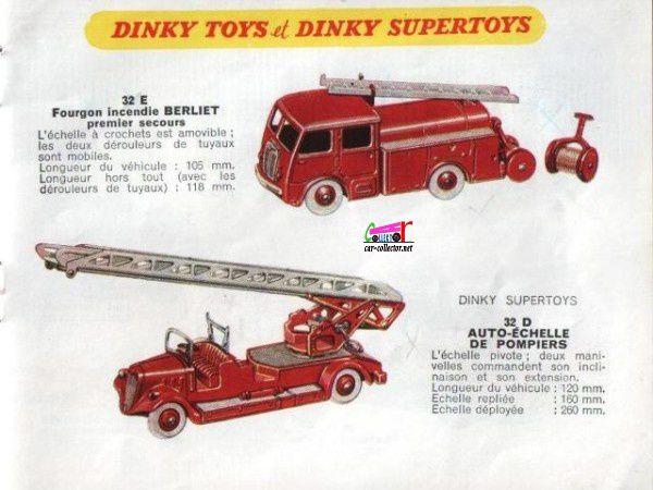 CATALOGUE DINKY TOYS ET SUPERTOYS 1958